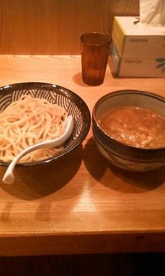 浜松町のつけめん屋サスケ〜なう……じゃなかった、さっき。麺ふとく