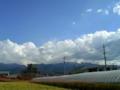 @shin35213 そう言うことか、この先っぽにチラッと見えてるのが石鎚山で