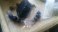 旦那のブレスをばらして水蓮さんの石たちを入れて組み直しました。カ