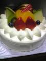 姉の誕生日なのでケーキなう