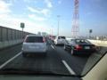 東京ディズニーランドに行きます。首都高に乗ったら大渋滞。ここから