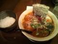 夕飯 えじそん 特製四川坦々麺 半ライス、1280 円
