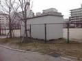 福岡の喋り仕事。昼休みに向かいの公園をぶらぶら。知らない街にいて