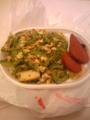 夕食f^_^;
