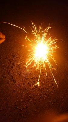 今年1番の花火ー!