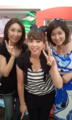 週末にotty展示会に伺いました!〓左から私、大原かおりん、梓真悠子