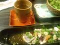 日本酒なう。だっさいってお酒です。美味い!