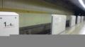 設置工事中で常にopen状態。手すりがない時より中途半端に手すり設置
