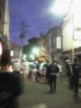 神明神社お祭り。おみこしなう