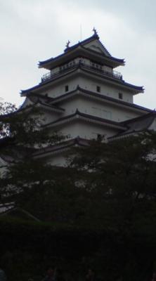 鶴ヶ城なう(*´∇`*)