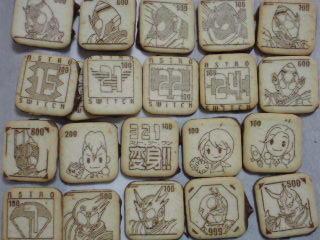 仮面ライダーチョコビスケット×2袋キタ―(・∀・)―! #fourze