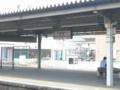 豊橋駅です。名古屋へ行きます〜〓