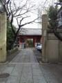 七福神ではありませんが、仁王門と鐘がある、養福寺。