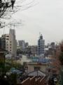 富士見坂。富士山見えますが、これじゃ見れないですね。