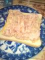 友人に教わったポテトサラダ作れた\(^o^)/シーチキンが無かったから