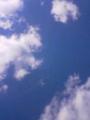 メールで試し。南の島の空。1月頃のだけど