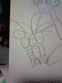 友達とうろ覚えで描いたポケモンのナッシー