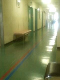朝イチで母の病院お見舞いなう。