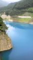 驚きの青さ。ブルーハワイが満ちてるみたいだ