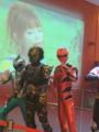 ゲキレンジャーと中川翔子のコラボ笑