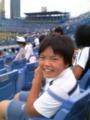 神宮球場 土曜日、ムスメと野球観戦。楽しい〜。