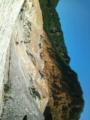 北海道最終日。自由行動で、登別温泉の地獄谷へ。硫黄くさかった〜