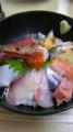 今日のランチは三宮で神戸中央市場直送の海鮮丼特上!980円なり