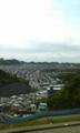 横須賀市佐原 から岩戸団地の眺望