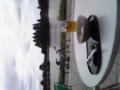 水元公園までサイクリング。茶屋できうけい中。