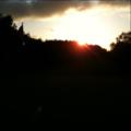 今日のビジネスゴルフ、日没前にぶじ終了