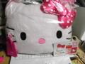 そういえば今日キティのクッション買った(≧∇≦)しあわせw