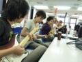 ご無沙汰しちゃいました!(汗)大阪校では今日も、 授業の合間もフ