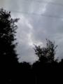 台風近し…ってもっときれいに撮れたらなぁ〜(笑)