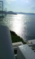うずしお見に行った( ^ω^)橋の向こうは徳島