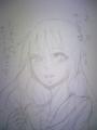 画面に描けないからさあ…せめて紙で チャットじゃなくて紙に書くの