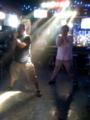 昨夜は某バーでPerfumeを華麗に踊ってますた。