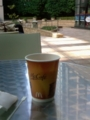 nice morning,came out to have a coffee