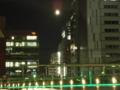 今日も月が綺麗なのですがコンデジではこの程度な件。撮影中UDXの