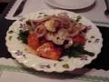 それに美味しかったねぇ、手作り有機野菜とシーフードのマリネに、チ