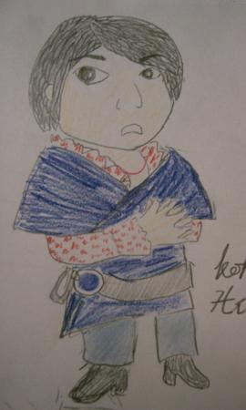 @kohmi いつも広瀬さんをモデルに描いています 今回はコミック風といい