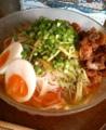 冷麺作ったなうー。市販の盛岡冷麺なので味は普通です( ´∀`)