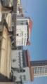 右が宝塚音楽学校、左が宝塚大劇場!今日も天気がよいです◎