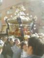 板橋・氷川神社例祭の御輿。なかなかに立派!