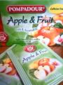 【POMPADOURのApple&Fruits】 おいしー♪甘くなくてフルーティ。アップル、