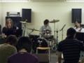 先生と一緒に演奏するアンサンブルの基礎授業、RS W(リズムセクション
