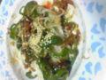 青椒肉絲素麺うまい 素麺えらい