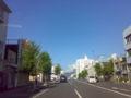 晴れています。 今朝は良い天気です。