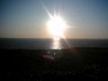 夕日 日本で太平洋に沈む太陽を見られる場所は意外と少ない。