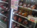 大久保のスーパー、キムチだらけ!わっしょい。