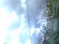 すすきにまぎれて風車が見えた うまく撮れなかったけどー